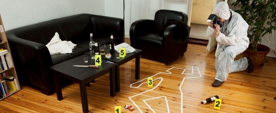 La scena di un crimine