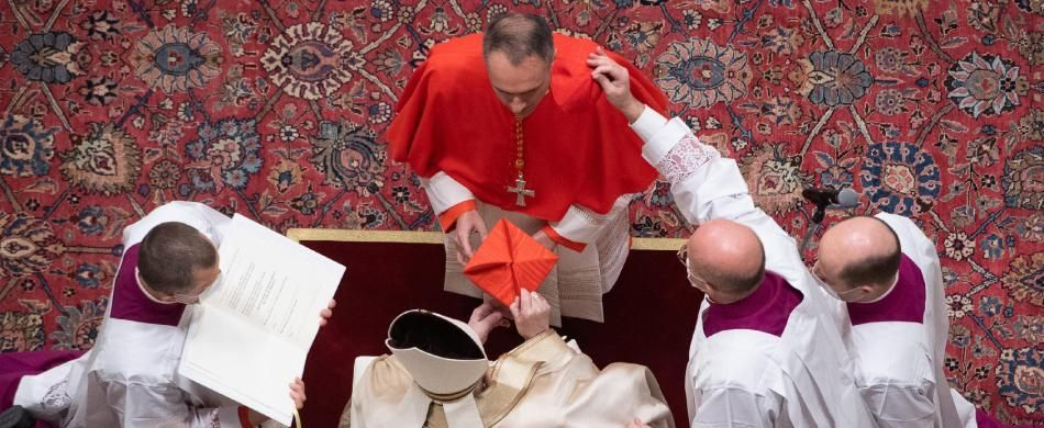 Mauro Gambetti: un cardinale in tonaca