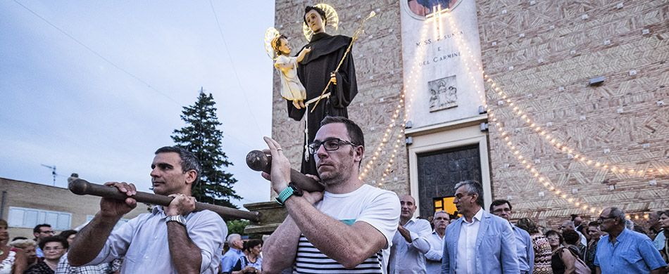 processione a Giuliano Teatino