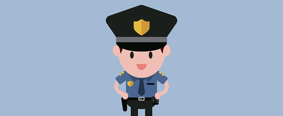 divisa da poliziotto