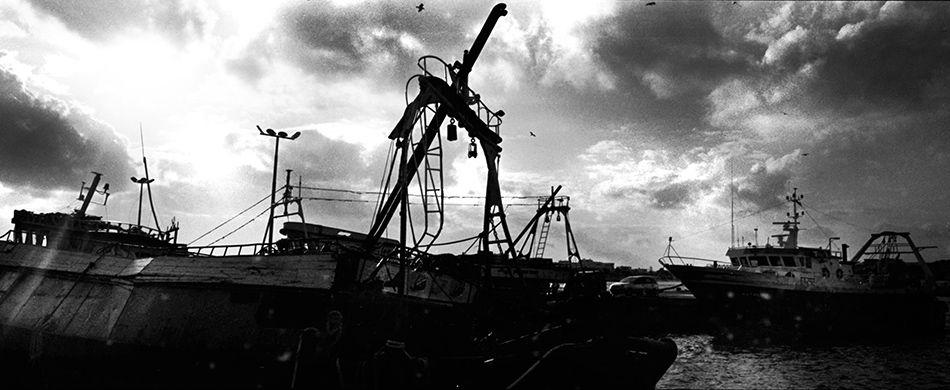 barcone a Lampedusa