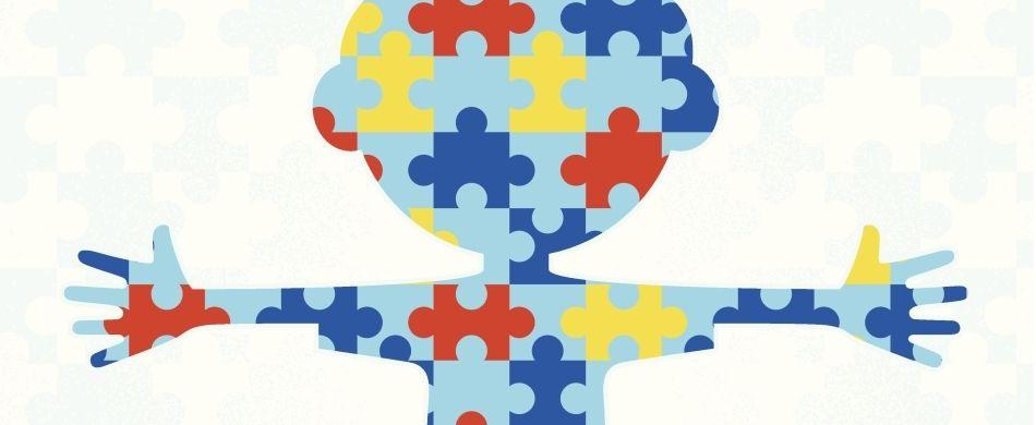 bambino a puzzle