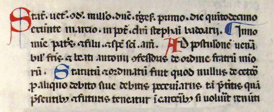 Il foglio 114 del Codice 1235