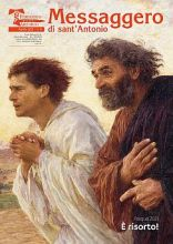 Copertina Messaggero di sant'Antonio aprile 2021