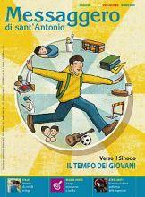 Copertina Messaggero di sant'Antonio ed. italiana per l'estero marzo 2018