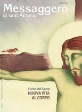 Copertina Messaggero di sant'Antonio marzo 2018