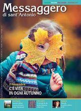 Copertina Messaggero di sant'Antonio ed.italiana estero - novembre 2017