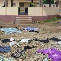 Fra Giancarlo Zamengo, direttore generale del «Messaggero di sant'Antonio,» è andato a visitare il Centre Miséricorde de Zooti, l'unico centro aperto in Togo da Grégoire. - FABIO SCARSATO