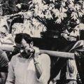 La processione si svolse, passando tra le macerie, anche il 13 giugno 1976, a poco più di un mese dal terremoto. - ©per gentile concessione dei frati del Santuario di sant'Antonio a Gemona