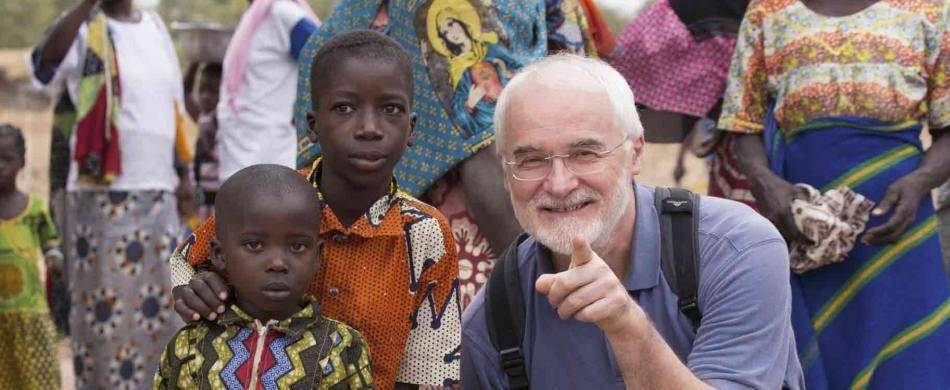 Fra Zamengo in Burkina Faso.