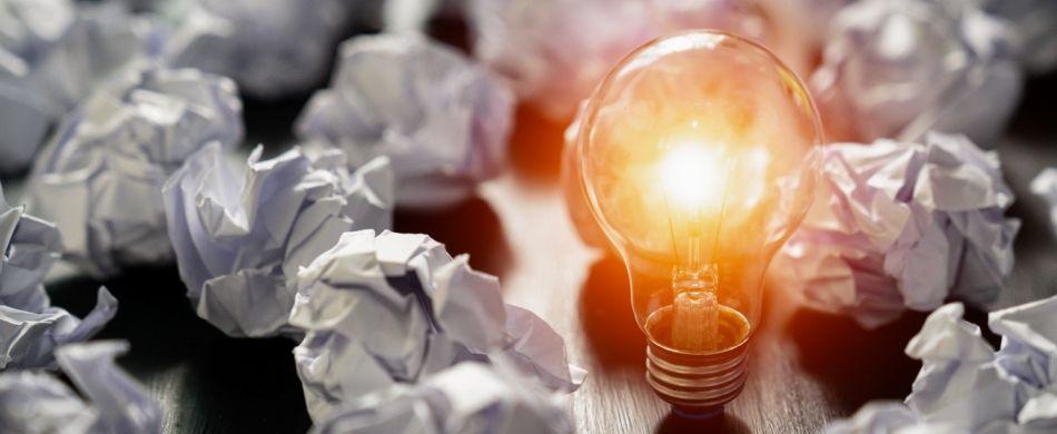 Spesso la lampadina nella testa si accende in modo imprevisto.