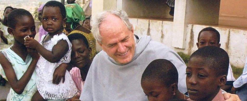 Padre Giorgio Abram in Ghana.