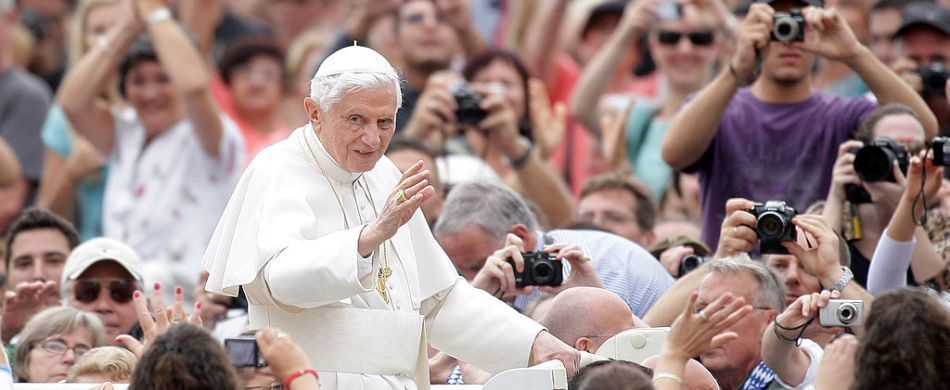 Benedetto XVI in Vaticano nel 2012.