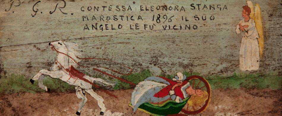 L'incidente in carrozza di una nobildonna soccorsa dall'angelo custode