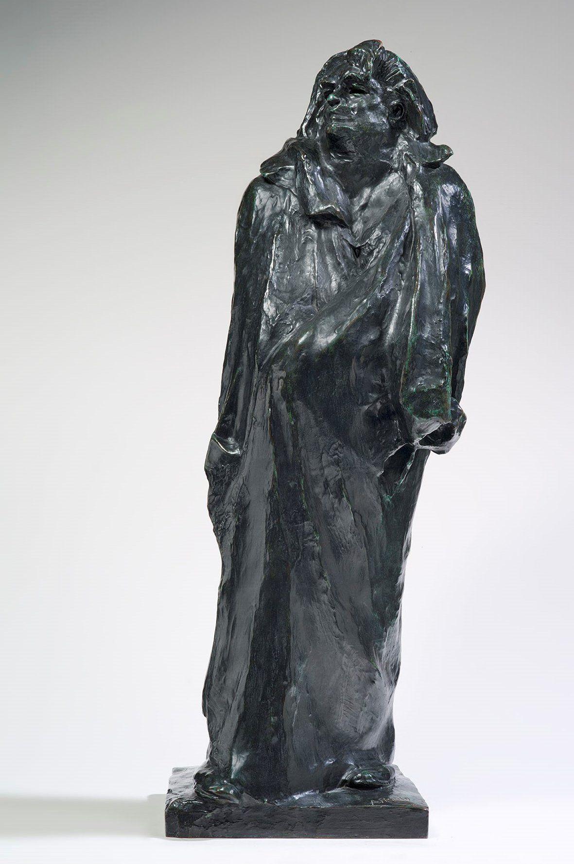 Auguste Rodin, Balzac, studio finale, 1897 bronzo, cm 108,5 x 43 x 38 Parigi, Musée Rodin. - © musee Rodin, foto Christian Baraja
