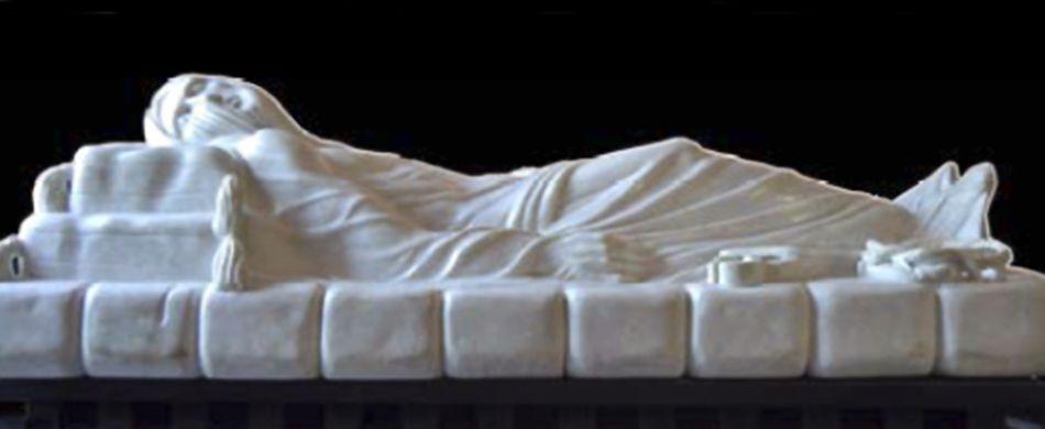 la statua del Cristo RiVelato di Felice Tagliaferri