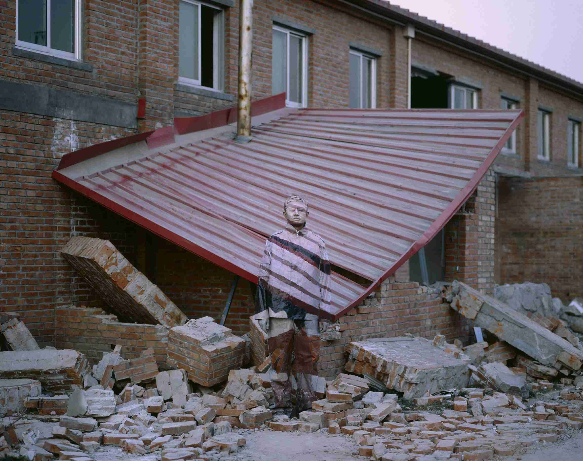 Suojia village, Beijing (Il villaggio di Suojia, Pechino), 2005. - COURTESY BOXART, VERONA