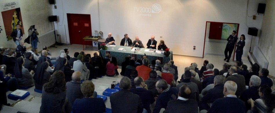 la presentazione al Due palazzi di Padova