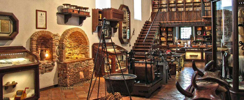 Il Museo  della Liquirizia «Giorgio Amarelli»,  a Rossano (CS)