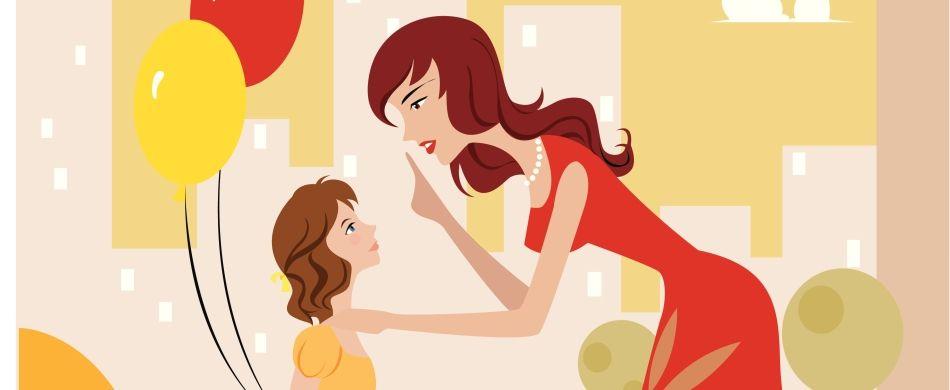 Una mamma parla alla figlia