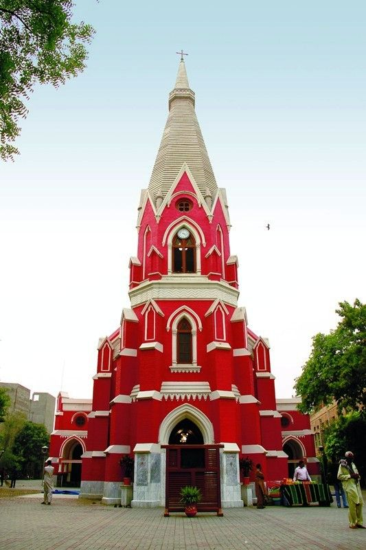La chiesa dedicata a Sant'Antonio a Lahore, metropoli del Pakistan - Suleman Nazir