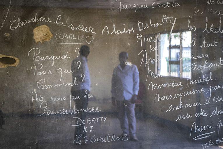 Kigali Memorial Centre, una parola in evidenza: perché? Perché un genocidio di tali proporzioni? - ©GiovanniMereghetti