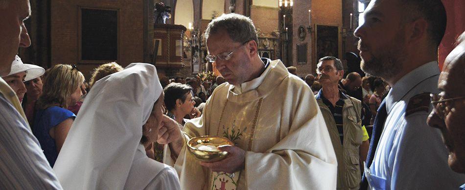 fra Oliviero Svanera in Basilica del Santo