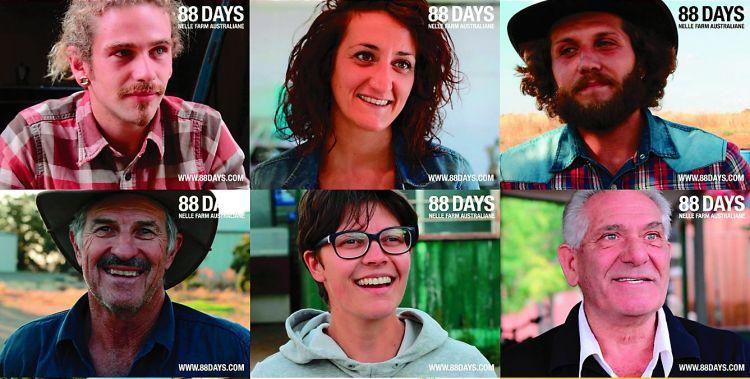 alcuni degli intervistati dal video reportage