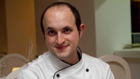 Bartolomeo Arrabito, pasticciere e maestro gelataio siciliano a Ryad.