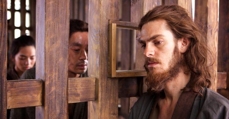 Ancora l'attore Andrew Garfield, che in «Silence» è il gesuita padre Rodrigues.