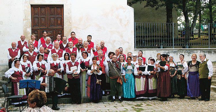 La corale della Familia Abruzzese di Rosario