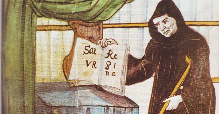 Il beato Ermanno di Reichenau.