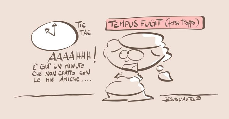 vignetta essere social