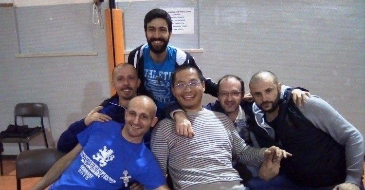 foto di gruppo per i postulanti di Brescia