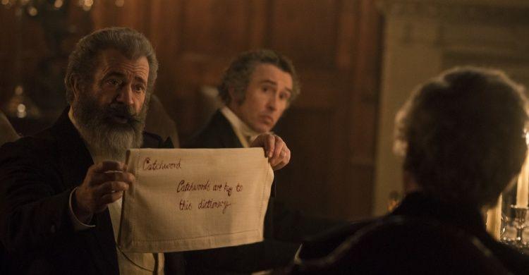 Mel Gibson interpreta James Murray nel film «Il professore e il pazzo» di Farhad Safinia.