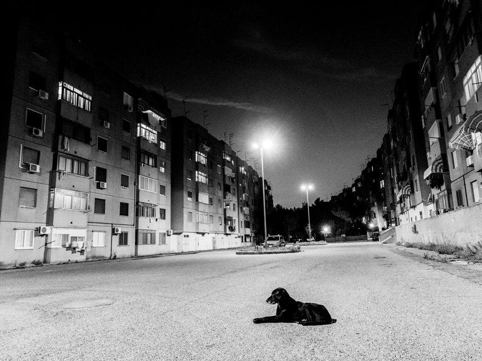 la notte del quartiere Paolo VI a Taranto