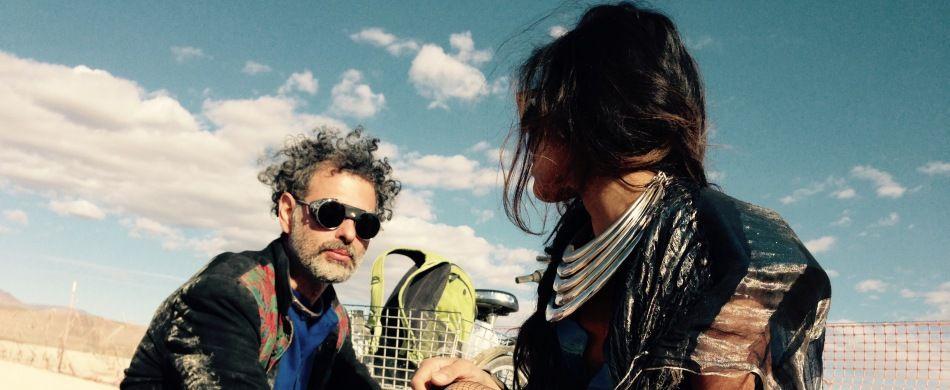 Manuel Greco e la moglie