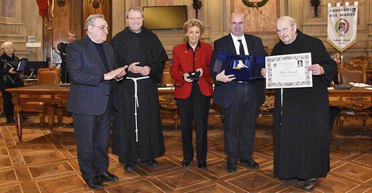 Padre Giampaolo Pinato. Emi aprile 2018. Padovani nel mondo
