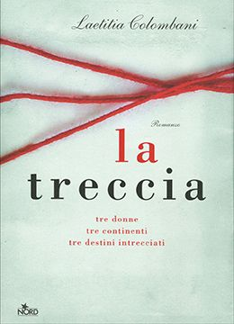 copertina del libro La treccia, fili di lana che si intrecciano